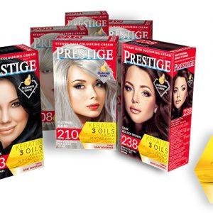 Prestige steady hair colouring cream