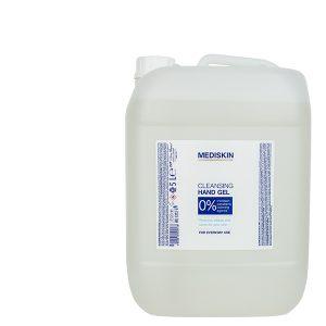 Mediskin Cleansing hand gel 70% alcohol 5l.