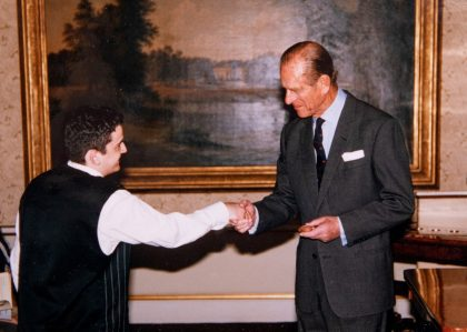 Medal of Excellence Presented by HRH Prince Philip in Buckingham Palace